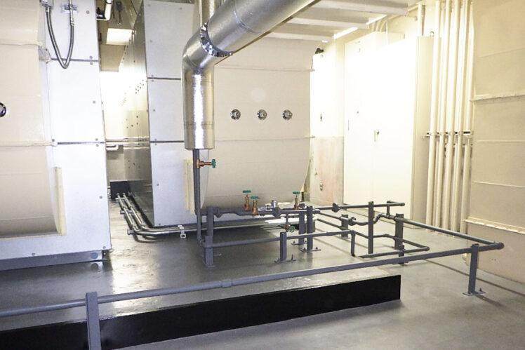 4F機械室完成