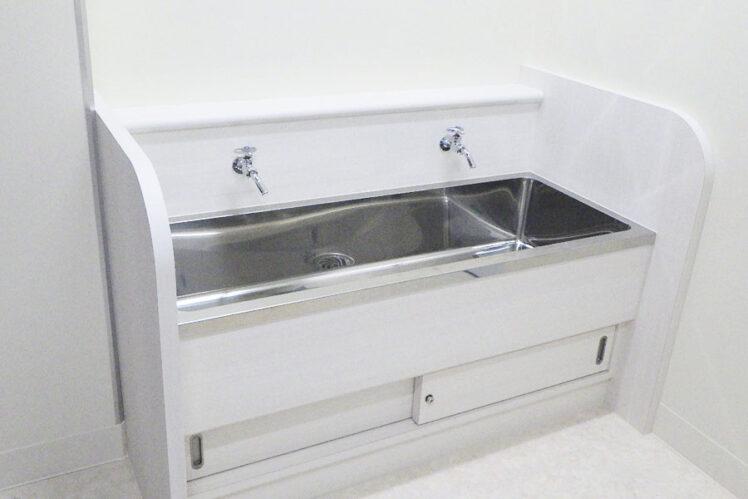 吐水口回転水栓(1階水呑場)